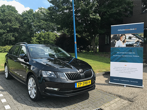 Aflevering auto leasen in Scheveningen