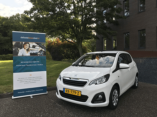 Auto leasen met de beste lease deal