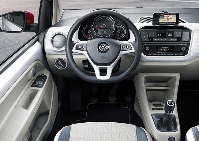 Binnenkant Volkswagen Up!