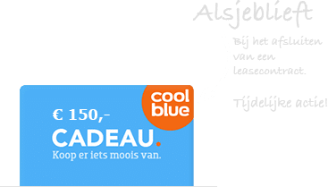 Coolblue cadeabon de beste lease deal