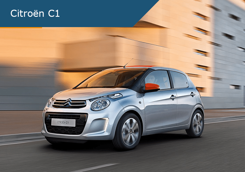 Citroen C1 de beste lease deal