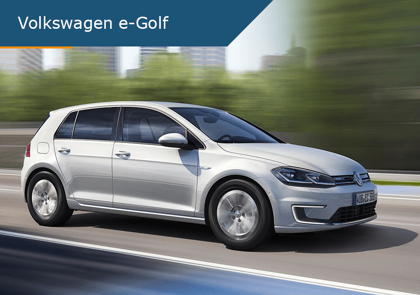 Volkswagen e-Golf de beste lease deal