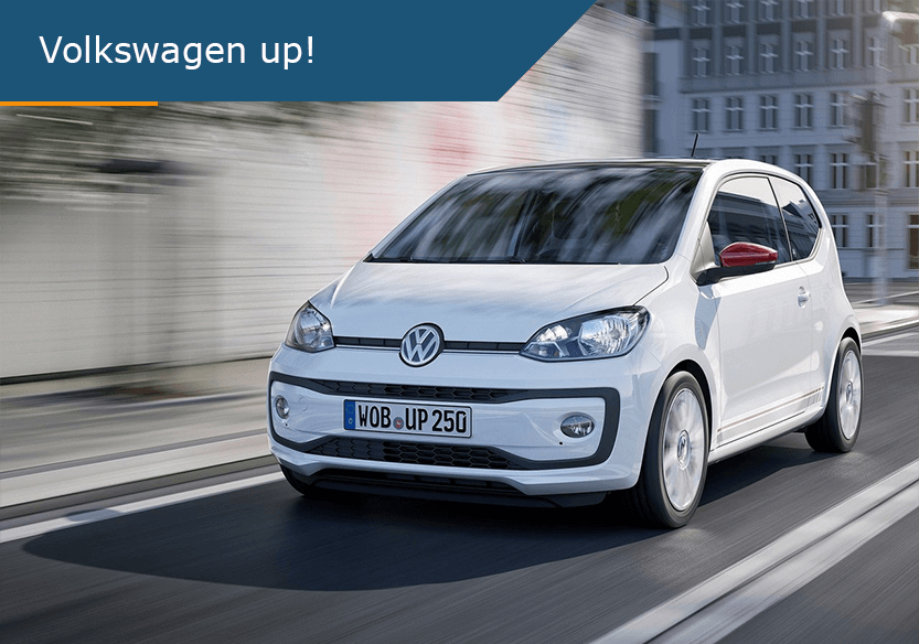 De beste lease deal voor Volkswagen Up