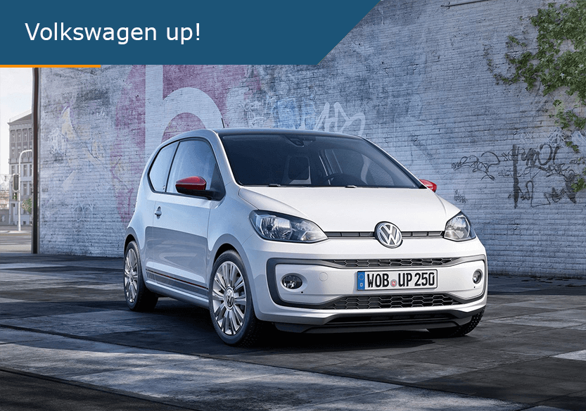 Volkswagen up! de beste lease deal