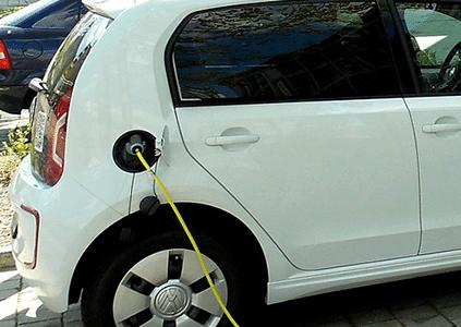 Elektrisch rijden opladen Volkswagen Up!