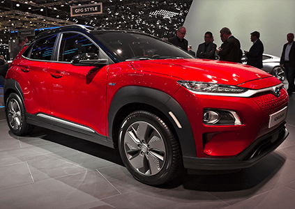 Hyundai KONA Electric Pulse Red