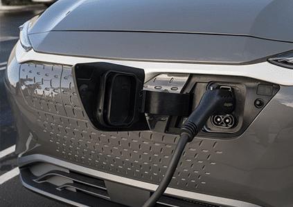 Hyundai KONA Electric snelladen opladen stekker