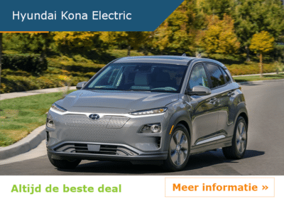 Hyundai Kona Electric auto leasen