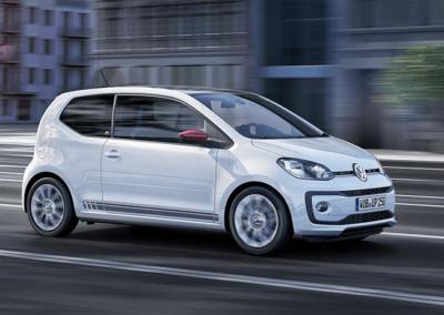 Rijdende Volkswagen Up!