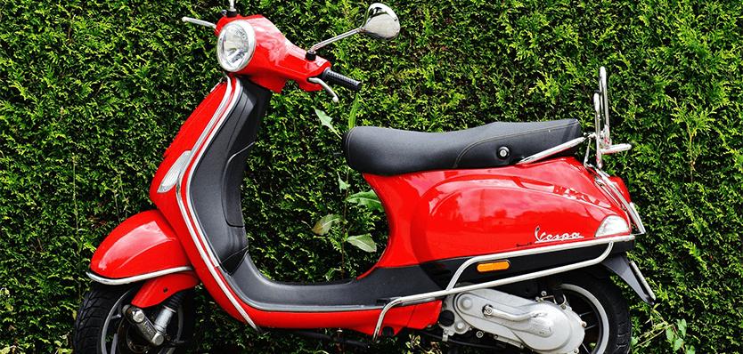 Scooter of bromfiets leasen