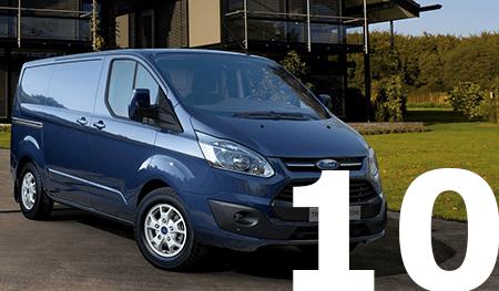 Top 10 bedrijfswagens 2021