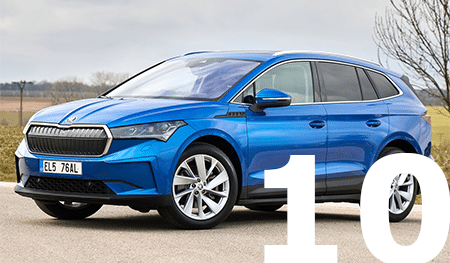 Top 10 leaseauto's september 2021