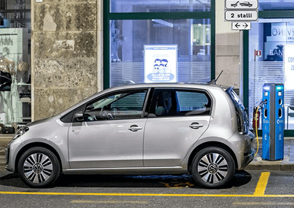 Volkswagen e-up leasen