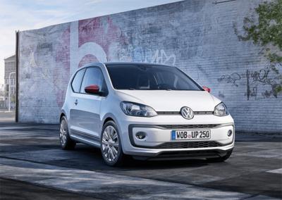 Voorkant Volkswagen Up!